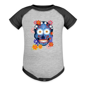 DarkSkull-Day Of The Dead. - Baby Contrast One Piece