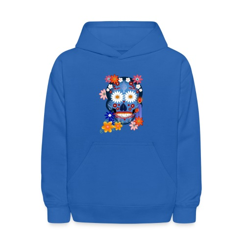 DarkSkull-Day Of The Dead. - Kids' Hoodie
