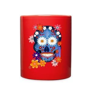 DarkSkull-Day Of The Dead. - Full Color Mug
