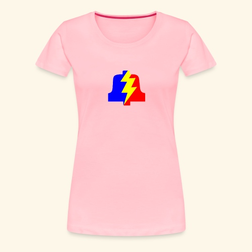 PLA logo shirt for dames - Women's Premium T-Shirt