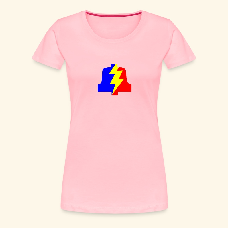 PLA logo shirt for dames - Women's Premium T-Shirt