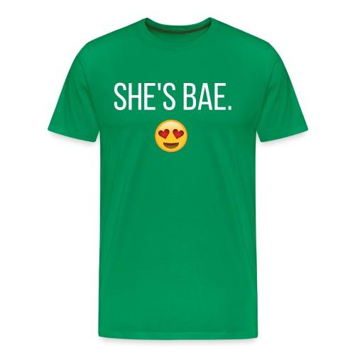 She's Bae Men's Tee - Men's Premium T-Shirt