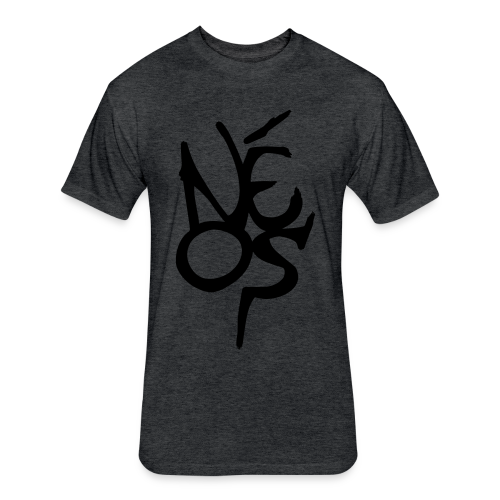 2 - Fitted Cotton/Poly T-Shirt by Next Level