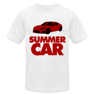 T-Shirts ~ Men's T-Shirt by American Apparel ~ Summah Car!