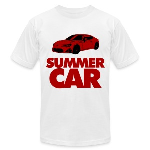 Summah Car! - Men's T-Shirt by American Apparel