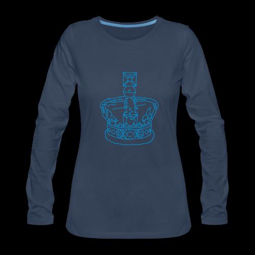 Crown - Women's Premium Long Sleeve T-Shirt