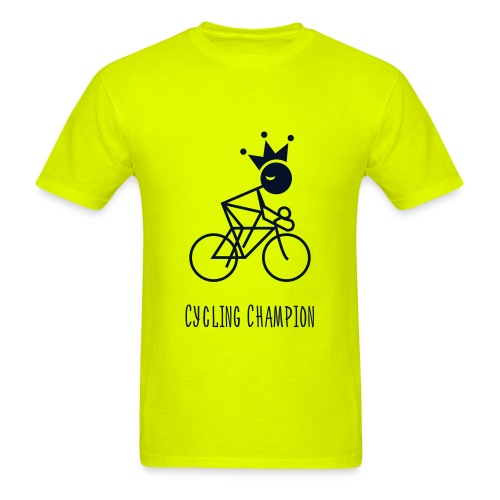 Double Sided Cycling Champion T-Shirt - Men's T-Shirt