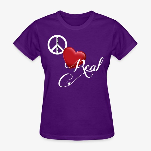 PeaceLoveReal-Quinsanity - Women's T-Shirt