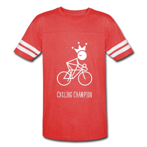 Double Sided Cycling Champion Vintage Sport T-Shirt - Vintage Sport T-Shirt