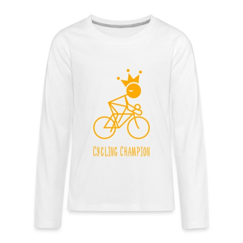 Double Sided Cycling Champion Premium Long Sleeve Kids T-Shirt - Kids' Premium Long Sleeve T-Shirt
