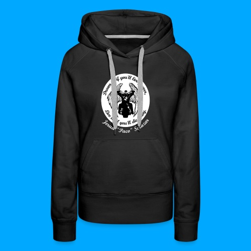 Women's front only design - Women's Premium Hoodie