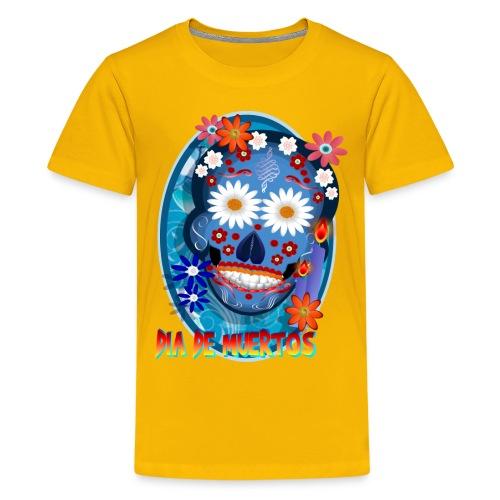 DarkSkull-Día de Muertos - Kids' Premium T-Shirt