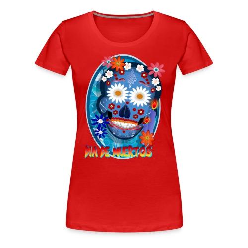 DarkSkull-Día de Muertos - Women's Premium T-Shirt