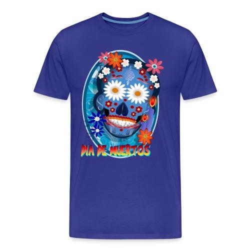 DarkSkull-Día de Muertos - Men's Premium T-Shirt