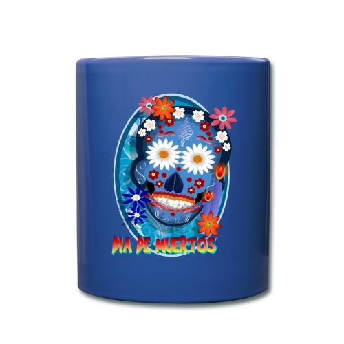 DarkSkull-Día de Muertos - Full Color Mug