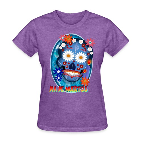 DarkSkull-Día de Muertos - Women's T-Shirt