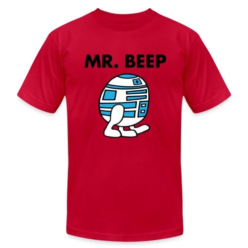 Mr Beep Droid T-shirt  - Men's Fine Jersey T-Shirt