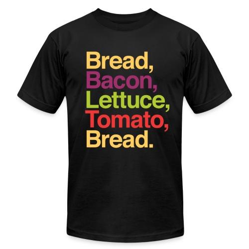 BLT Graphic in Helvetica T-shirt - Men's Fine Jersey T-Shirt