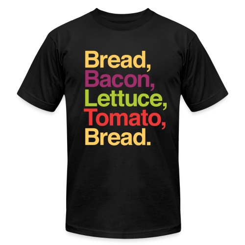 BLT Graphic in Helvetica T-shirt - Men's  Jersey T-Shirt