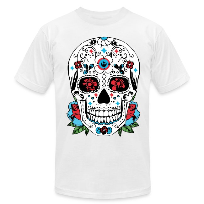 5c8930be0 Dangermouth | Mexican Day of the Dead Skull t-shirt - Mens Jersey T ...