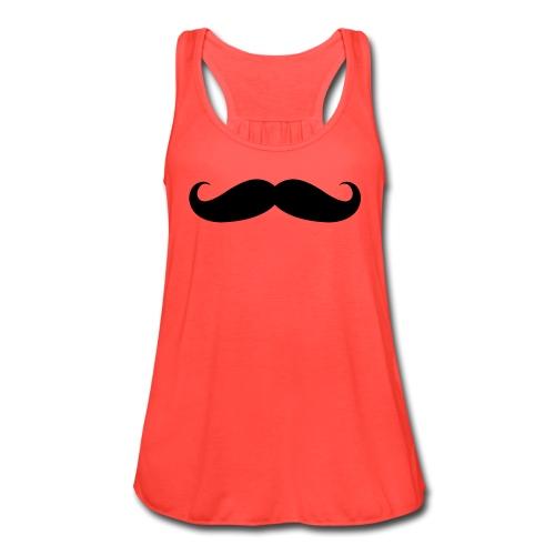 Mr. Mustache - Women's Flowy Tank Top by Bella
