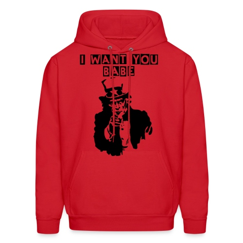 I want you babe - Men's Hoodie