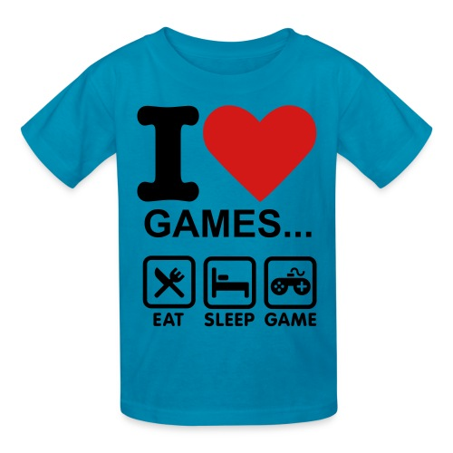 Keep Calm Game on t-shirt - Kids' T-Shirt