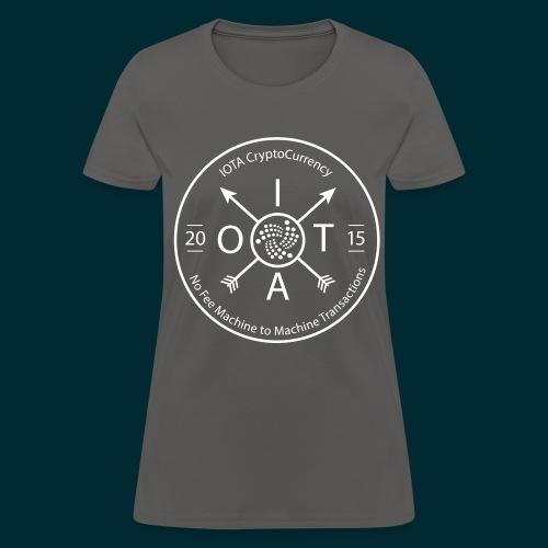 Iota Retro circle - Women's T-Shirt