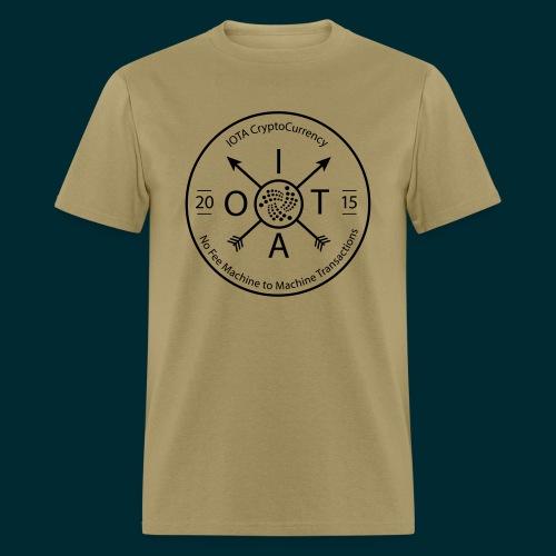 Iota Retro circle - Men's T-Shirt