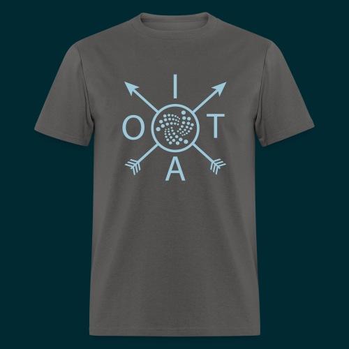 Iota Retro Arrows - Men's T-Shirt