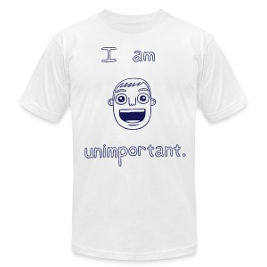Unimportant (boys slim fit) - Men's T-Shirt by American Apparel
