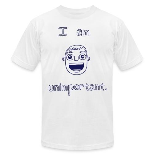 Unimportant (boys slim fit) - Men's Fine Jersey T-Shirt