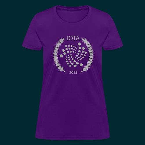 Iota Wreath Design - Women's T-Shirt