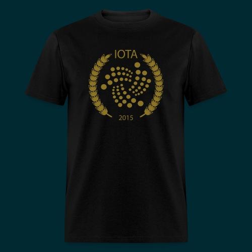 Iota Wreath Design - Men's T-Shirt