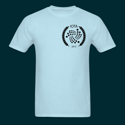 Iota Wreath Design small - Men's T-Shirt