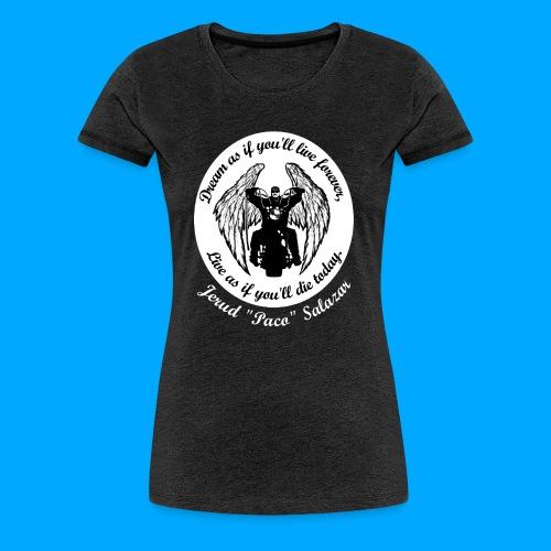 Women's front only design - Women's Premium T-Shirt