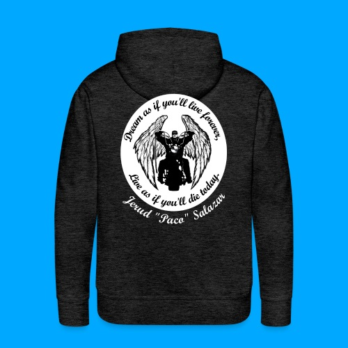 Men's front and back design - Men's Premium Hoodie