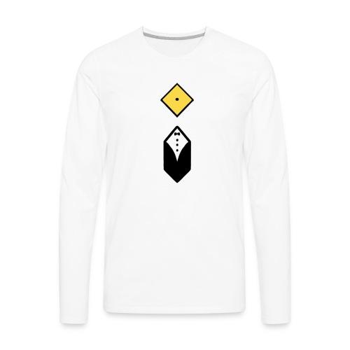 iSleeve - Men - Men's Premium Long Sleeve T-Shirt