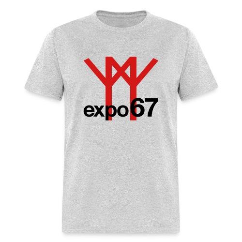 Expo 67 (red + black) - Men's T-Shirt