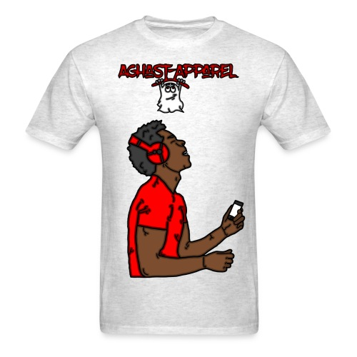 Music-Man by: Aghast-Apparel (Any Color) - Men's T-Shirt