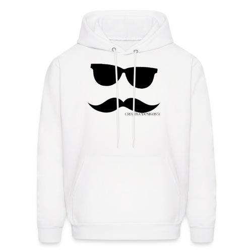 Cold Cool Mustache - Men's Hoodie