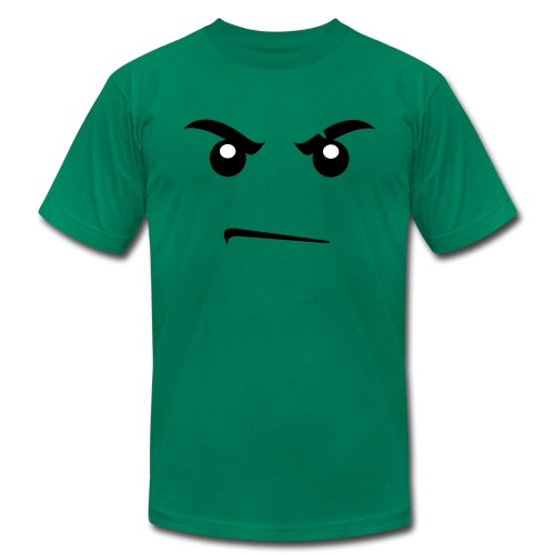 Lego Angry Face  - Men's  Jersey T-Shirt