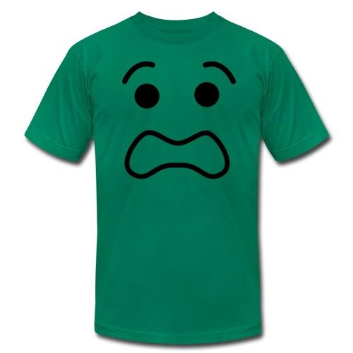Lego Scared Face - Men's Fine Jersey T-Shirt