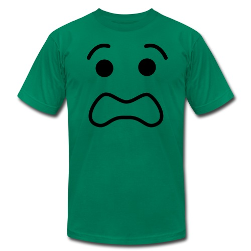 Lego Scared Face - Men's  Jersey T-Shirt