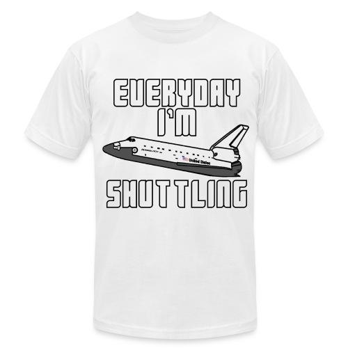 Shuttling Shirt - Men's Fine Jersey T-Shirt