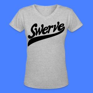 Swerve Women's T-Shirts - stayflyclothing.com - Women's V-Neck T-Shirt