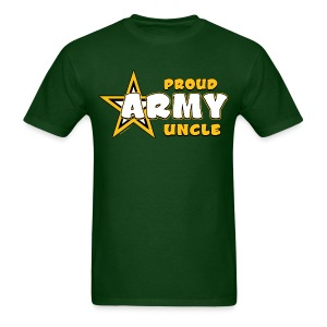 Army Uncle T Shirts - Bold Gold - Men's T-Shirt