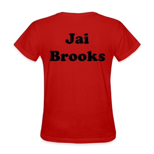 Jai brooks! (red) - Women's T-Shirt