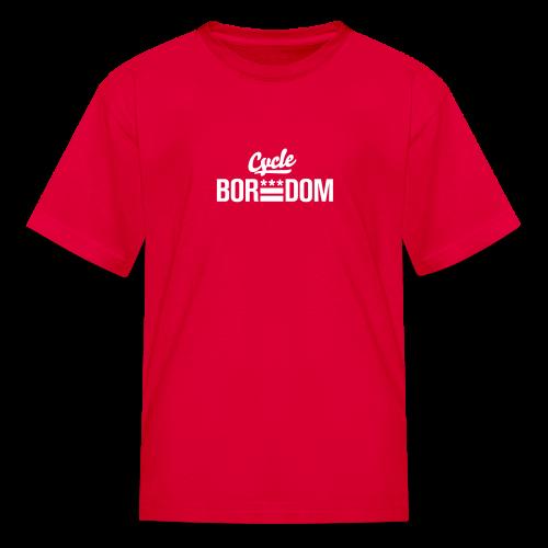 Boredom Voor Kids - Kids' T-Shirt
