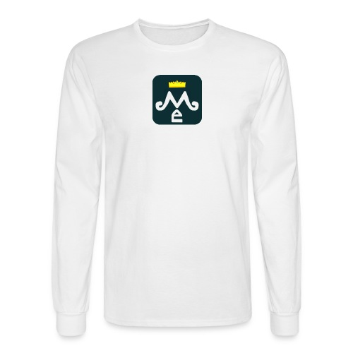 Men's LvlMe Crown Long Sleeve (Official) - Men's Long Sleeve T-Shirt